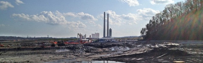 Kingston coal ash spill aftermath